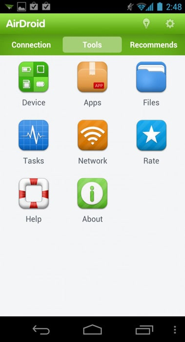 android file transfer apps-AirDroid