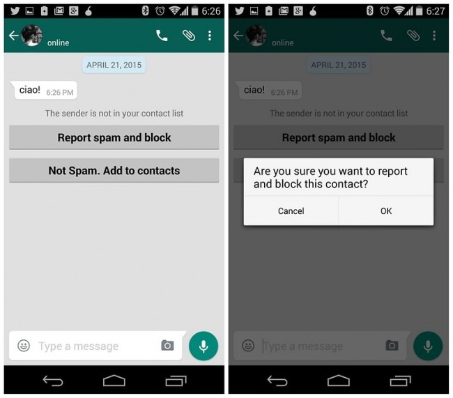 how to block whatsapp spam-Block WhatsApp Spam in Android Devices
