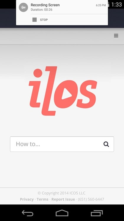 ilos screen recorder