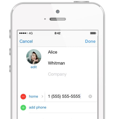 manage whatsapp contacts