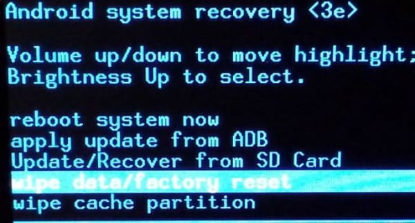 samsung recovery mode