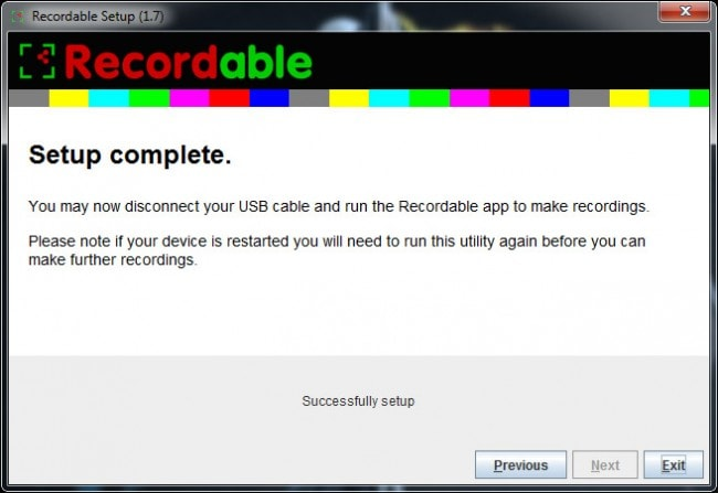 PC Recordable Install