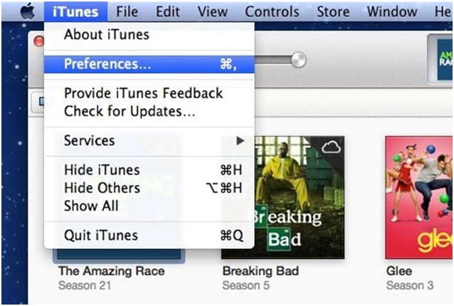 iTunes backedup