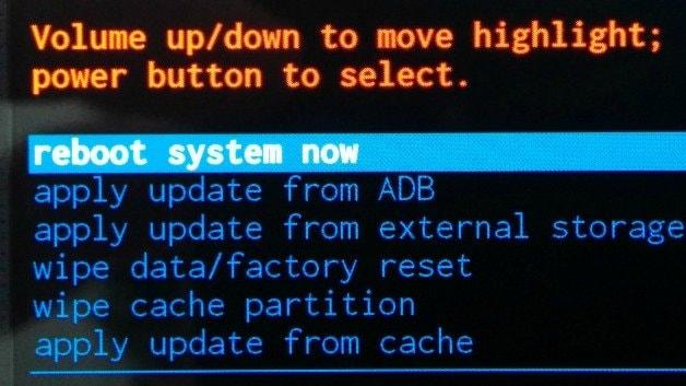 تجمد هاتف سامسونج جالاكسي عند بدء التشغيل