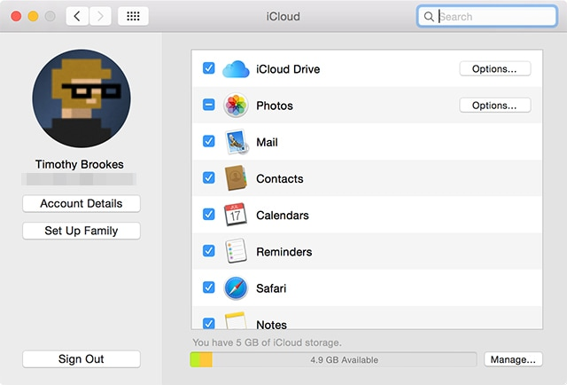 Notes can't sync with iCloud