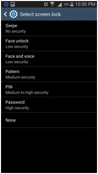 lock screen notifications android