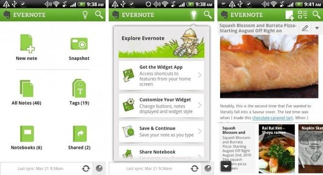 notities app voor android