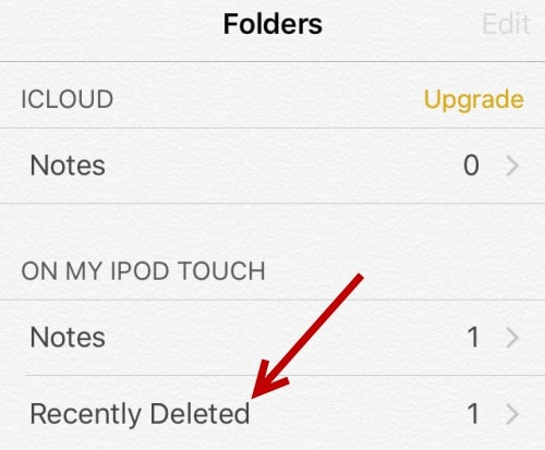 recover deleted notes from ipad