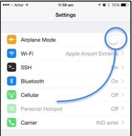 iMessage Error on iOS 9.3