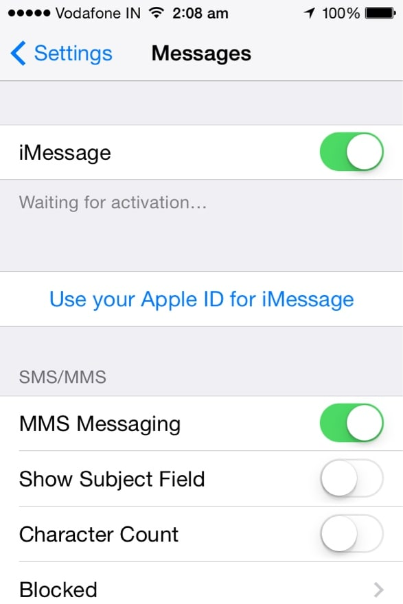 sync imessages across multiple devices-Set up your iPad