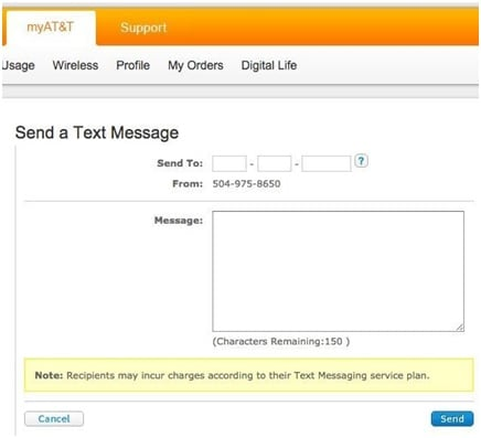 Send free SMS from Computer