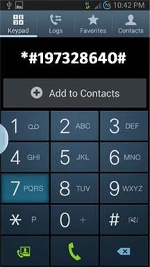 dial the number to unlock galaxy s5