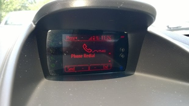 Ford sync iPhone - step 3 of syncing iPhone to Ford sync