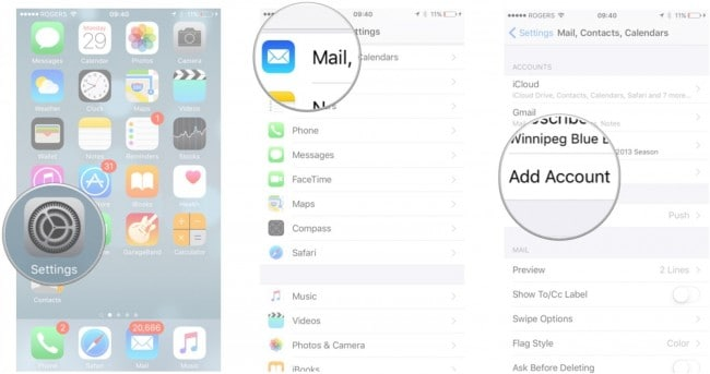sync iCal with iphone - step 2 for Sync iCal to iPhone Using google calendar