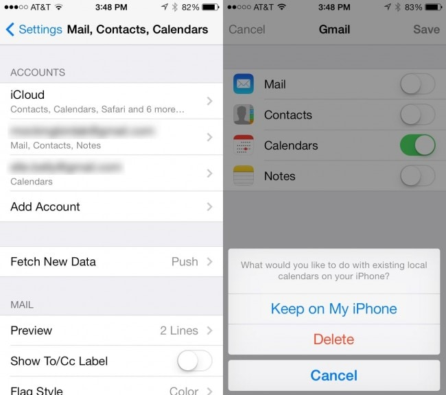 sync iCal with iphone - step 4 for Sync iCal to iPhone Using google calendar