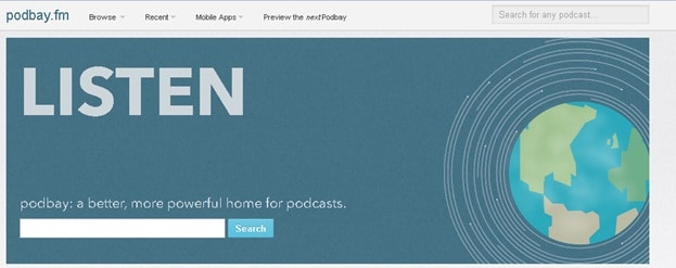 Download Podcasts without iTunes - Visit Podbay