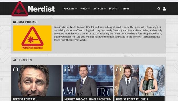 Download Podcasts without iTunes - Visit Nerdist