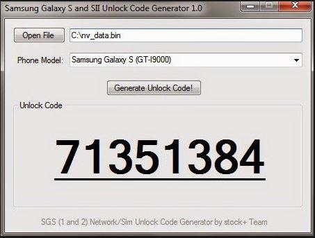 get samsung galaxy s2 unlock codes free