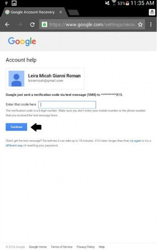 android Google automated call verification