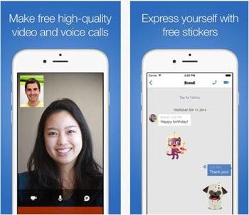 gratis telefoongesprekken app - Imo
