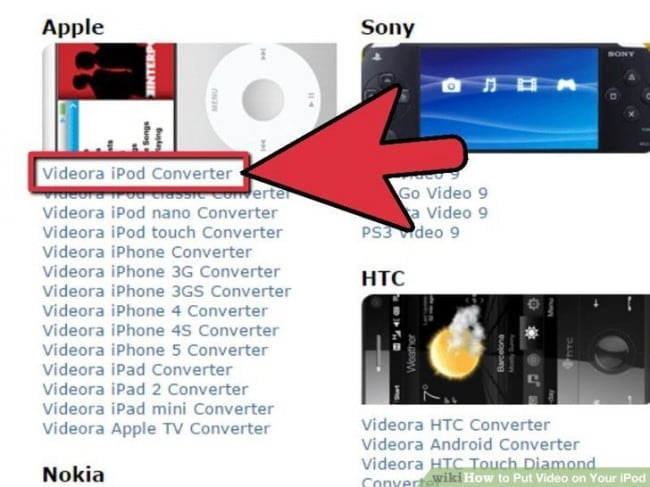 how to add videos to iPod Nano-Compatible formats