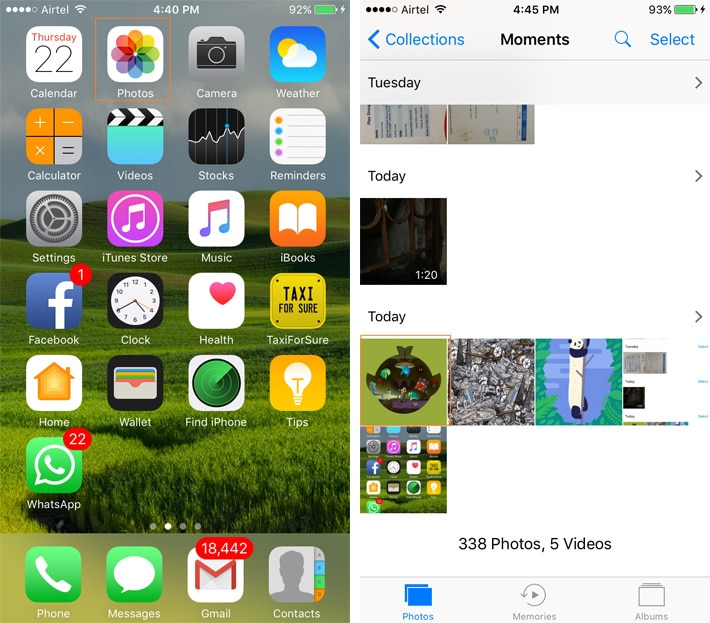 How to Set Wallpapers on iPhone