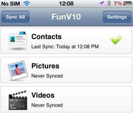 FunV10 iPhone Backup Software