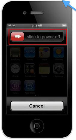 wie man das iPhone in den dfu-Modus versetzt - Schalten Sie das iPhone aus
