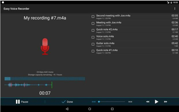 Easy Voice Recorder: