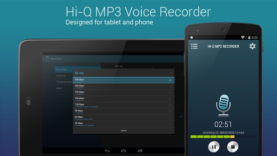 Hi-Q MP3 Voice Recorder: