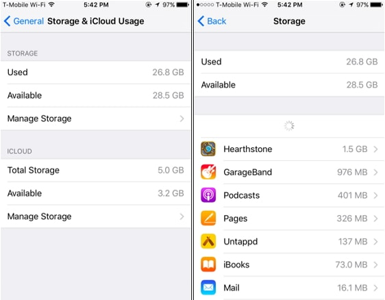 iphone not enough storage to restore