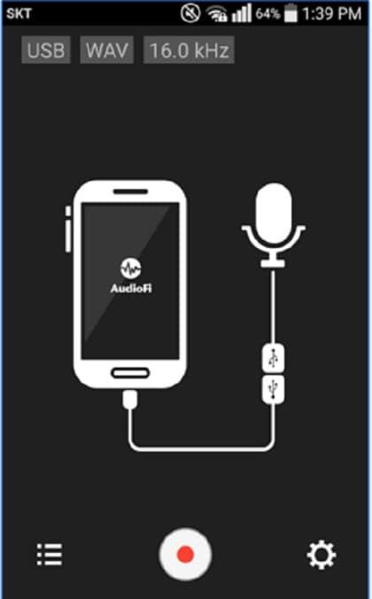 مسجل صوت USB للمكالمات الهاتفية
