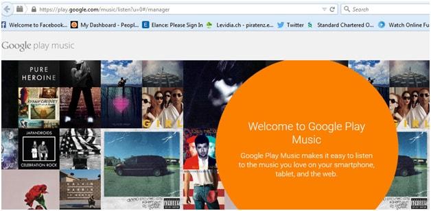 Upload iPhone/iPod/iPad Music to Google Music-Google music