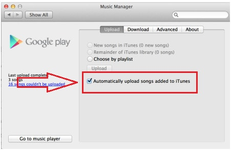 Upload iPhone/iPod/iPad Music to Google Music-step 7