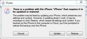 comment faire sortir l'iPhone du mode de récupération avec iTunes