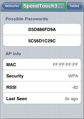 find wifi password iphone