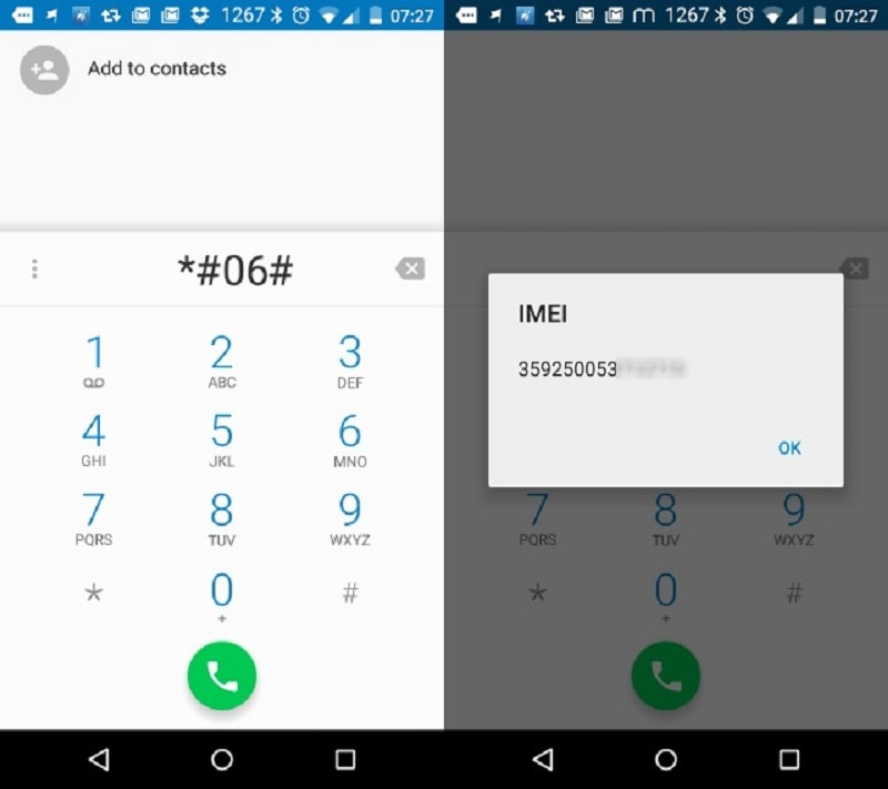 android simcardlock imei