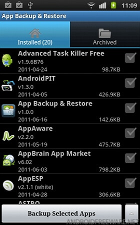 free android backup restore apps