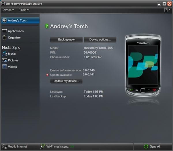 Transfer contacten vanuit Blackberry naar Android