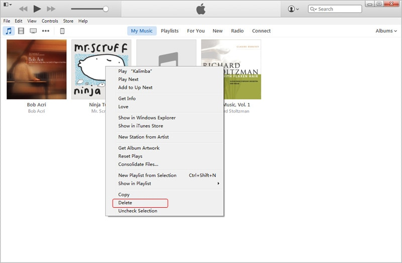 Transfer MP3 to iPad with iTunes: Delete Incompatible Songs