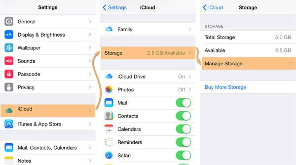 Hoe kun je een iCloud back-up verwijderen.