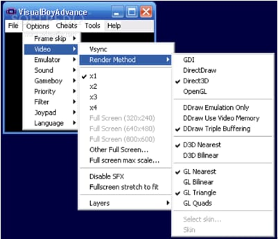 Emulator for Mac-Visual Boy Advance