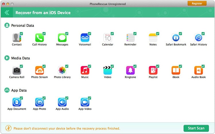 iTunes Backup Extractor: Phone Rescue