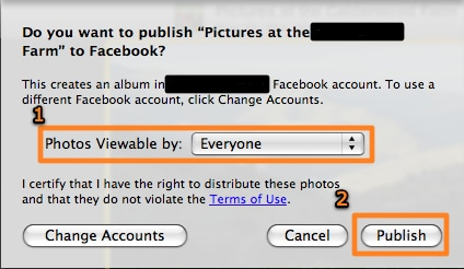 export iphoto to facebook-Photos Viewable by