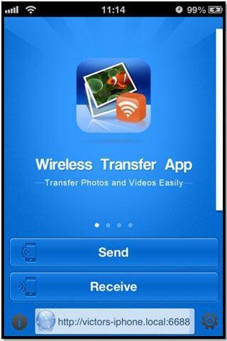 bluetooth transfer iphone