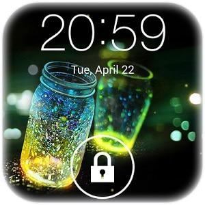 best way to unlock Android fingerprint lock-Fireflies Lock Screen