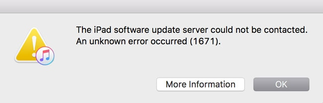 Fix iTunes Error 1671