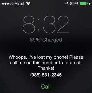 Wis een iPhone
