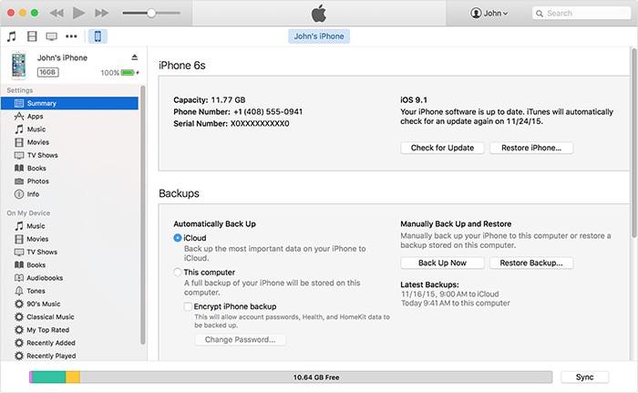 iPhone Data Wissen