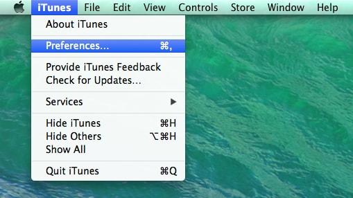 Verwijder een iTunes back-up bestand.